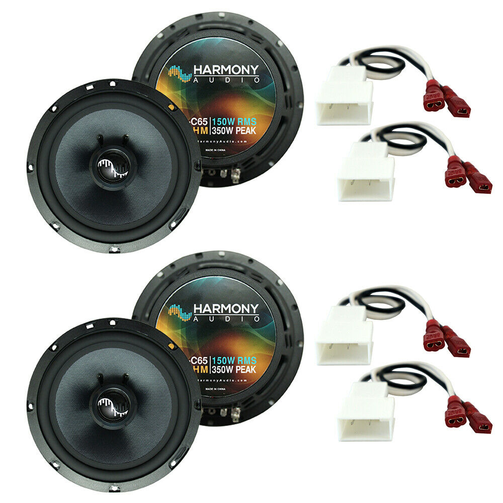 medium resolution of details about fits mitsubishi lancer 2008 2015 factory speakers replacement harmony 2 c65