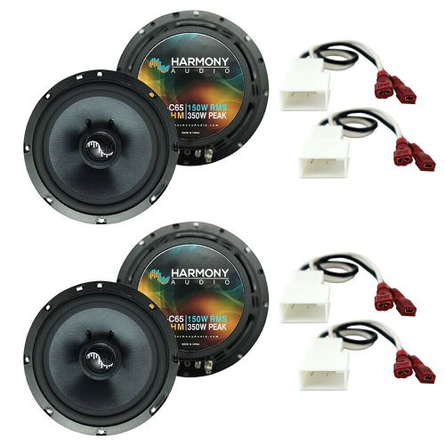 small resolution of details about fits mitsubishi lancer 2008 2015 factory speakers replacement harmony 2 c65