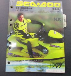 details about 1997 sea doo hx parts diagram catalog manual 219300300 [ 867 x 1000 Pixel ]