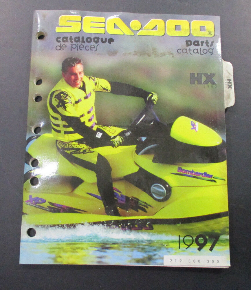 medium resolution of details about 1997 sea doo hx parts diagram catalog manual 219300300