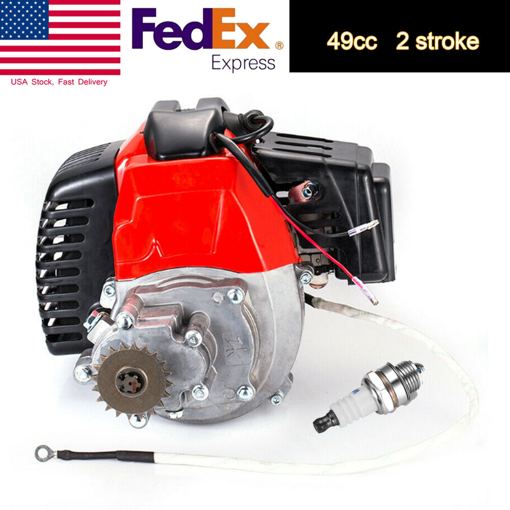 hight resolution of details about 49cc 2 stroke pull start engine motor mini pocket pit quad dirt bike atv scooter