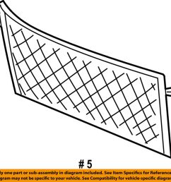 details about ford oem 04 07 freestar liftgate tailgate cargo net 4f2z1655066aa [ 1000 x 940 Pixel ]