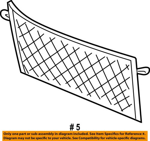 small resolution of details about ford oem 04 07 freestar liftgate tailgate cargo net 4f2z1655066aa