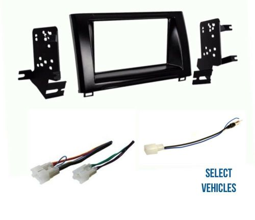 small resolution of details about double din car stereo radio dash wire kit combo for some 2014 2018 toyota tundra