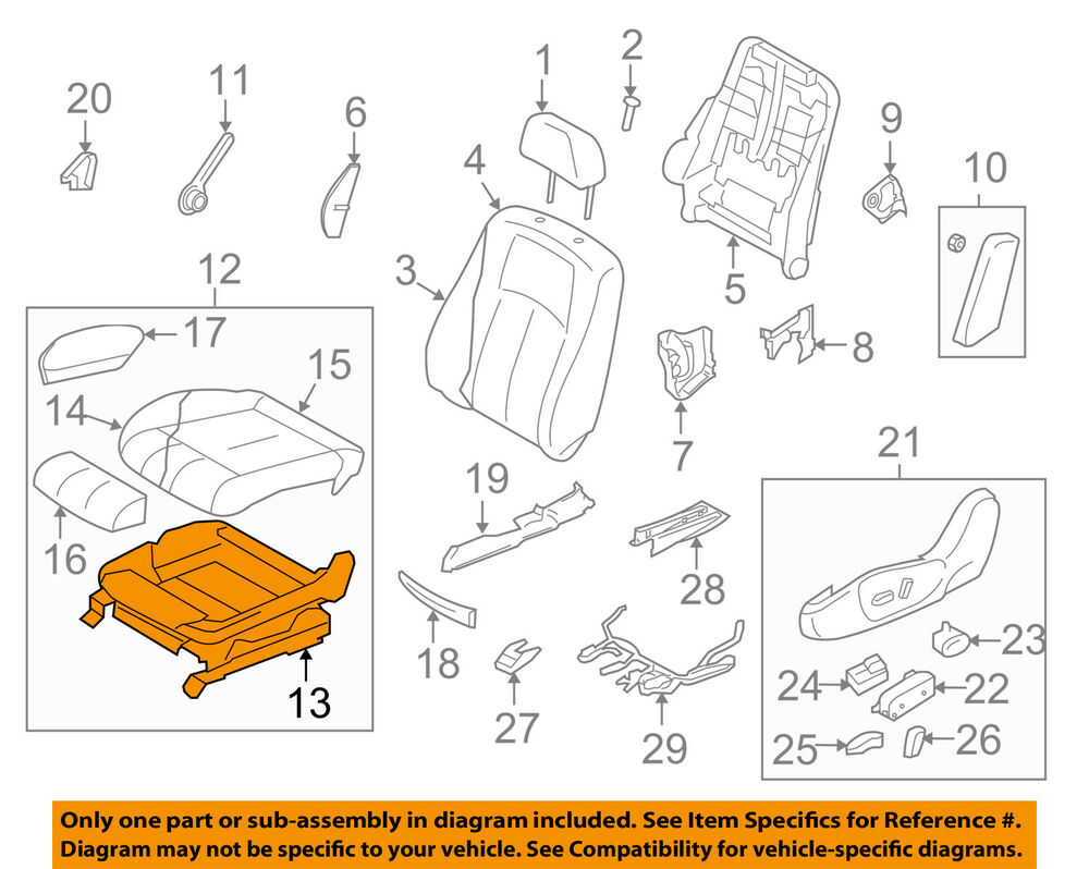 hight resolution of details about infiniti nissan oem 2008 g37 driver seat seat frame 87351jl37a