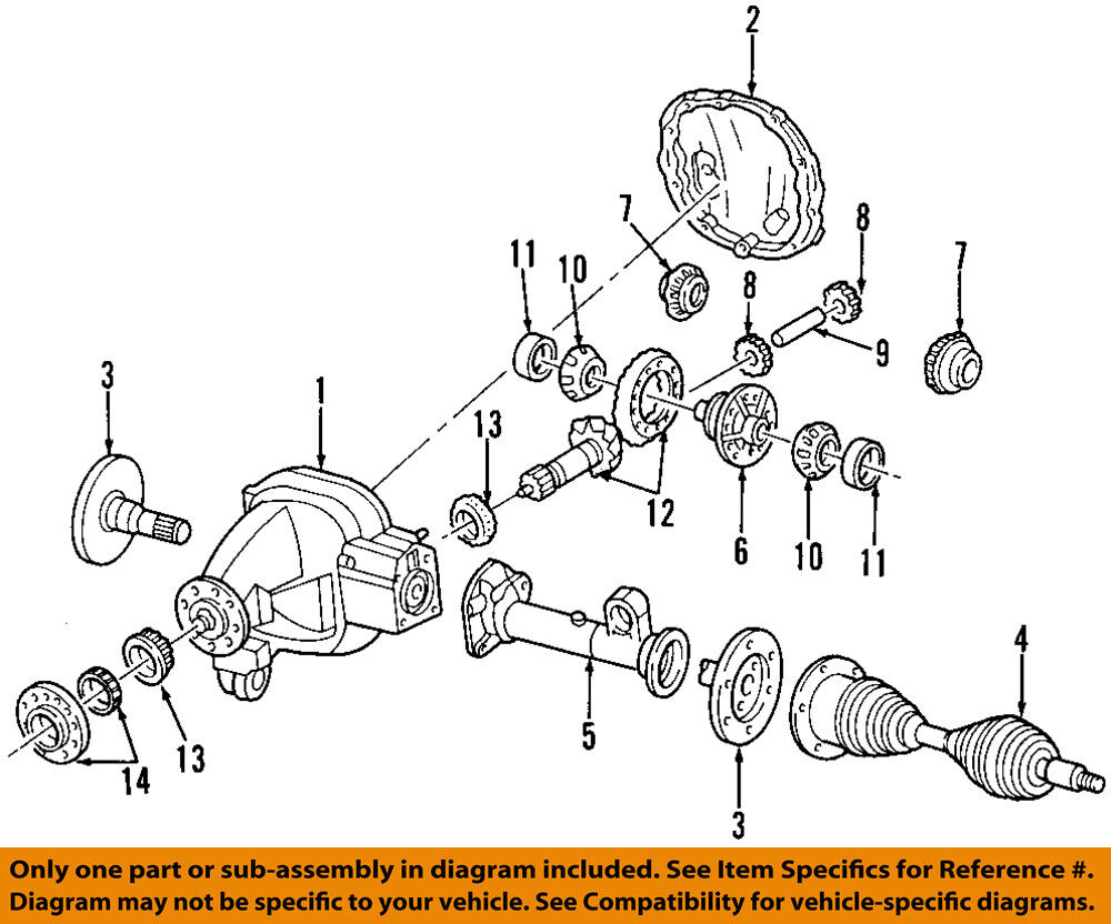 medium resolution of details about ford oem front axle shafts 2l3z3220ab