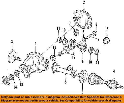 small resolution of details about ford oem front axle shafts 2l3z3220ab