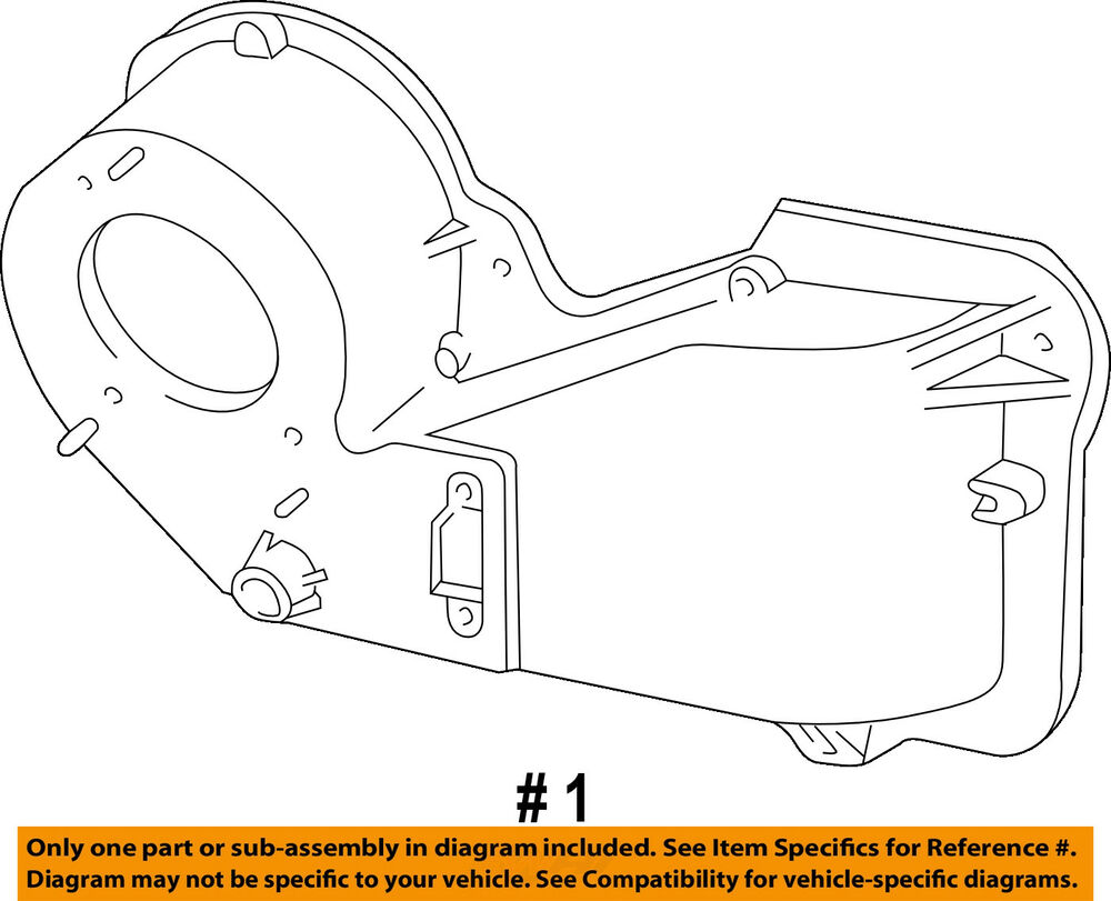 hight resolution of details about ford oem heater hvac housing assembly 1l5z18456ca