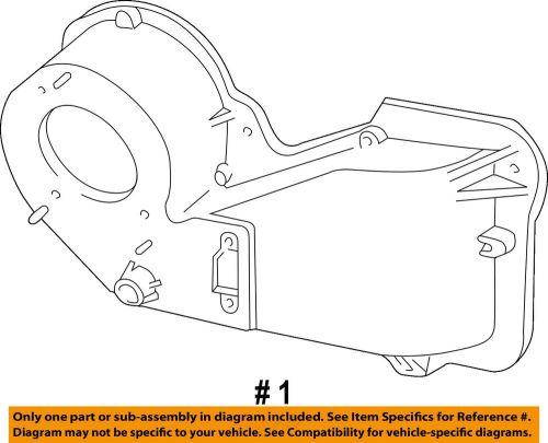 small resolution of details about ford oem heater hvac housing assembly 1l5z18456ca