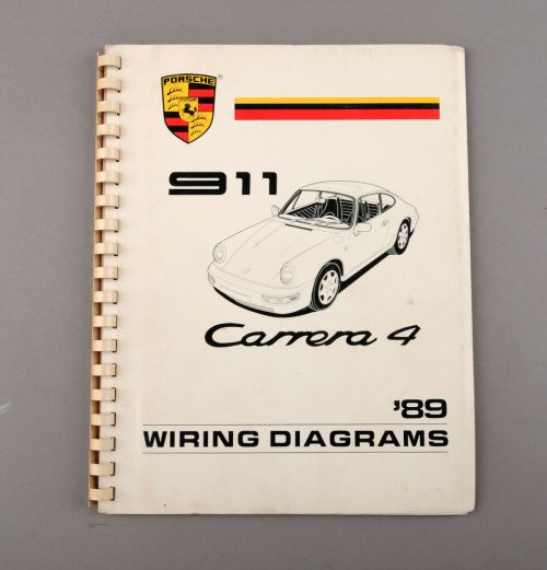 small resolution of details about 1989 porsche 911 carrera 4 wiring diagrams shop manual
