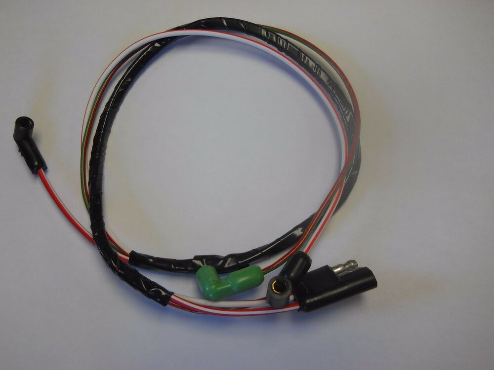 Wiring Harnesses 1971 1973 Mustang Engine Gauge Feed Wire Harness