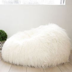 Where To Buy Bean Bag Chairs Swivel Chair Size Shaggy Fur Large Lush & Soft Super Cloud Plush Luxury Beanbag New | Ebay