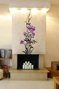 Giant Colouful Flowers Wall Decal Stickers Decor High ...