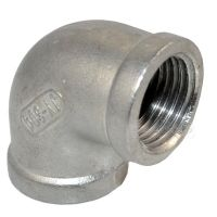 "1/2"" BSP 304 Stainless Steel Elbow 90 degree angled Pipe"