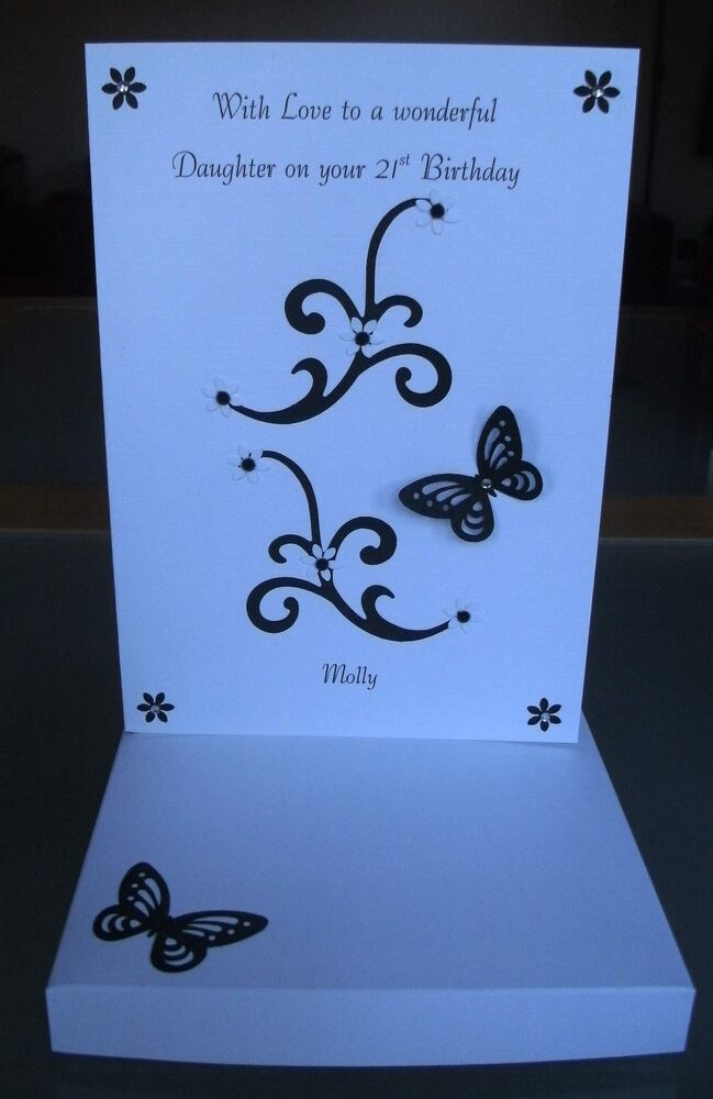 Personalised Boxed 16th 18th 21st 30th 40th Birthday Card