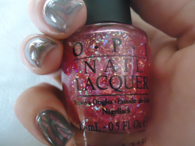 Opi Nail Polish New I Lily Love You Pink Flakie