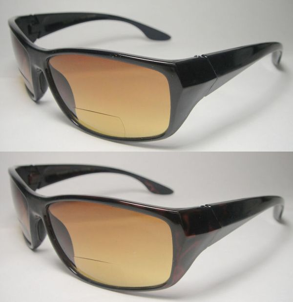 Bifocal Vision Reading Sunglasses Hd High Definition-976bf- 1.00 1.25 1.75 2.00