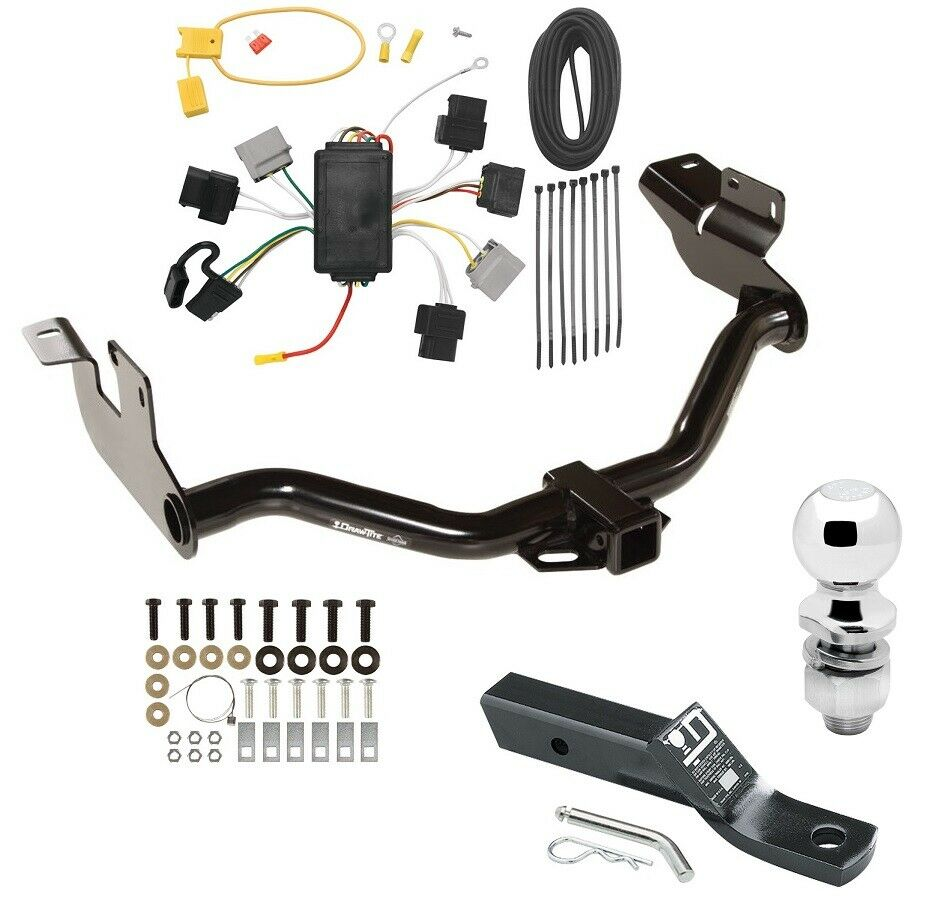 hight resolution of 2005 2007 ford escape complete trailer receiver tow hitch 2005 ford escape trailer wiring diagram ford escape trailer wiring diagram