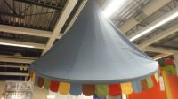 IKEA MYSIG KIDS CIRCUS TENT AWNINGS FABRIC MULTI COLOR