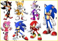 STICKER WALL DECO DECALL SONIC THE HEDGEHOG TAILS SHADOW ...