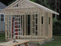 Custom Design Shed Plans, 6x8 Gable Storage, DIY ...