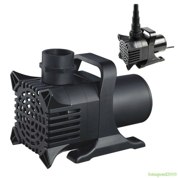 Fish Pond Pump Water Fountain Waterfall 800 10 000 Ghp Submersible Size