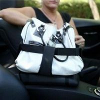 Pursestringz- Hold your purse in your car - adjustable ...
