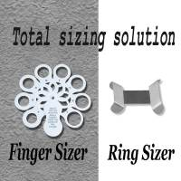 STERLING 925 SILVER RING CLIP SIZE ADJUSTER REDUCER ...