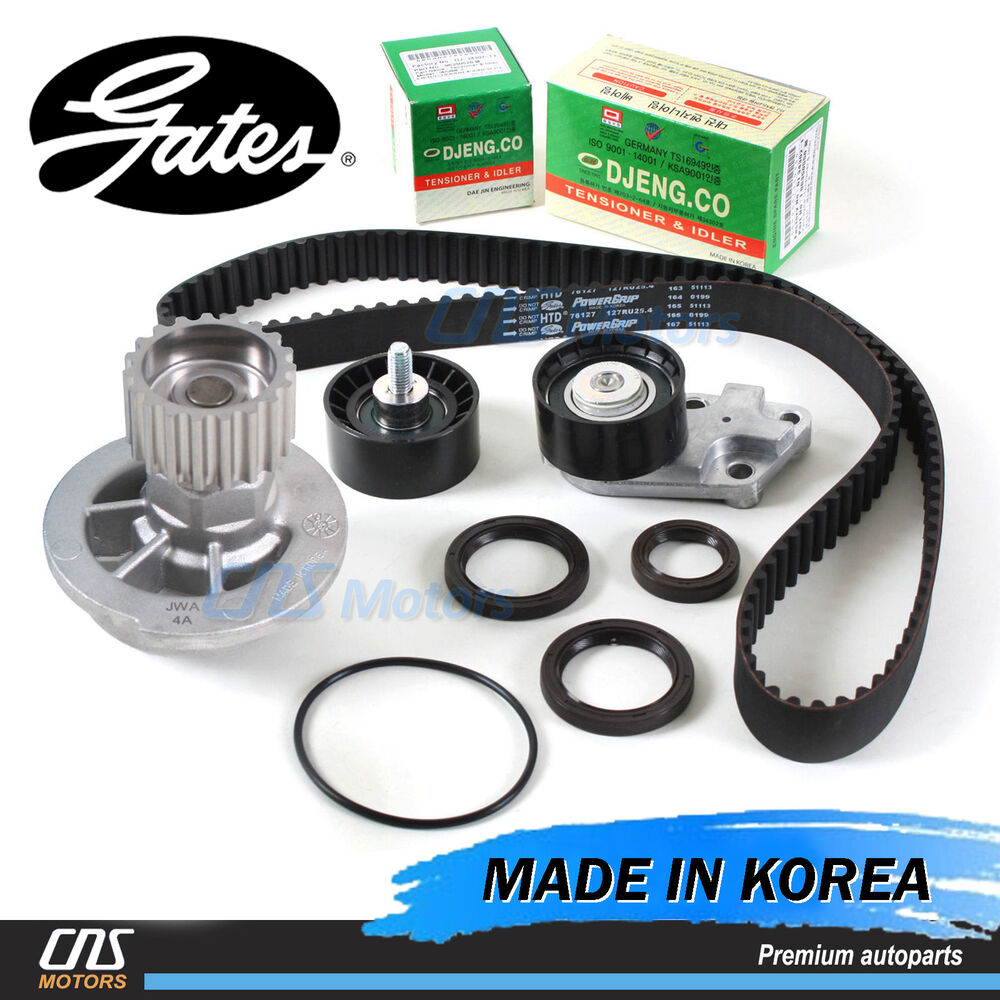 hight resolution of details about gates htd timing belt kit water pump for 2004 2008 chevrolet aveo 1 6l dohc
