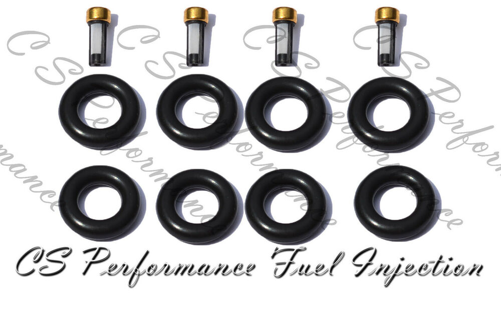 Fuel Injector Service Repair Rebuild Kit Seals Filter O