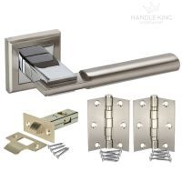 Square Internal Chrome Door Handle Packs - Duo Polished ...