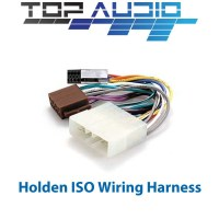VR VS Ute ISO WIRING HARNESS car radio plug lead wire ...