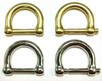 Two O.E.M. Replacement Brass/Nickel Nickel D-Rings For ...