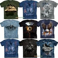 The Mountain Big Animal Face Wolf Tiger Dog Eagle Head T