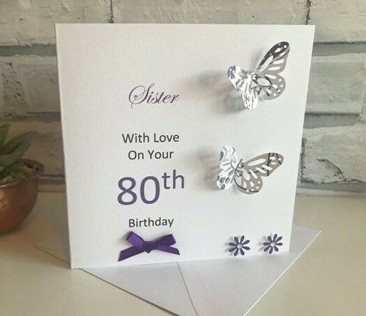 HANDMADE PERSONALISED BIRTHDAY CARD MUM GRANDMA NANA