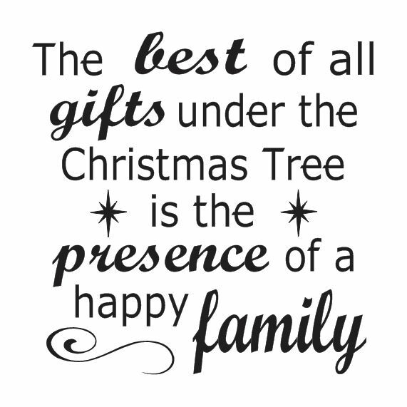 Christmas Holiday STENCIL 12x12 *The best of all gifts