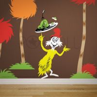 Children Wall Decals Wall Sticker - Dr seuss Characters ...