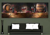 Wall Art Canvas Print Wine Composition Picture Home Wall ...
