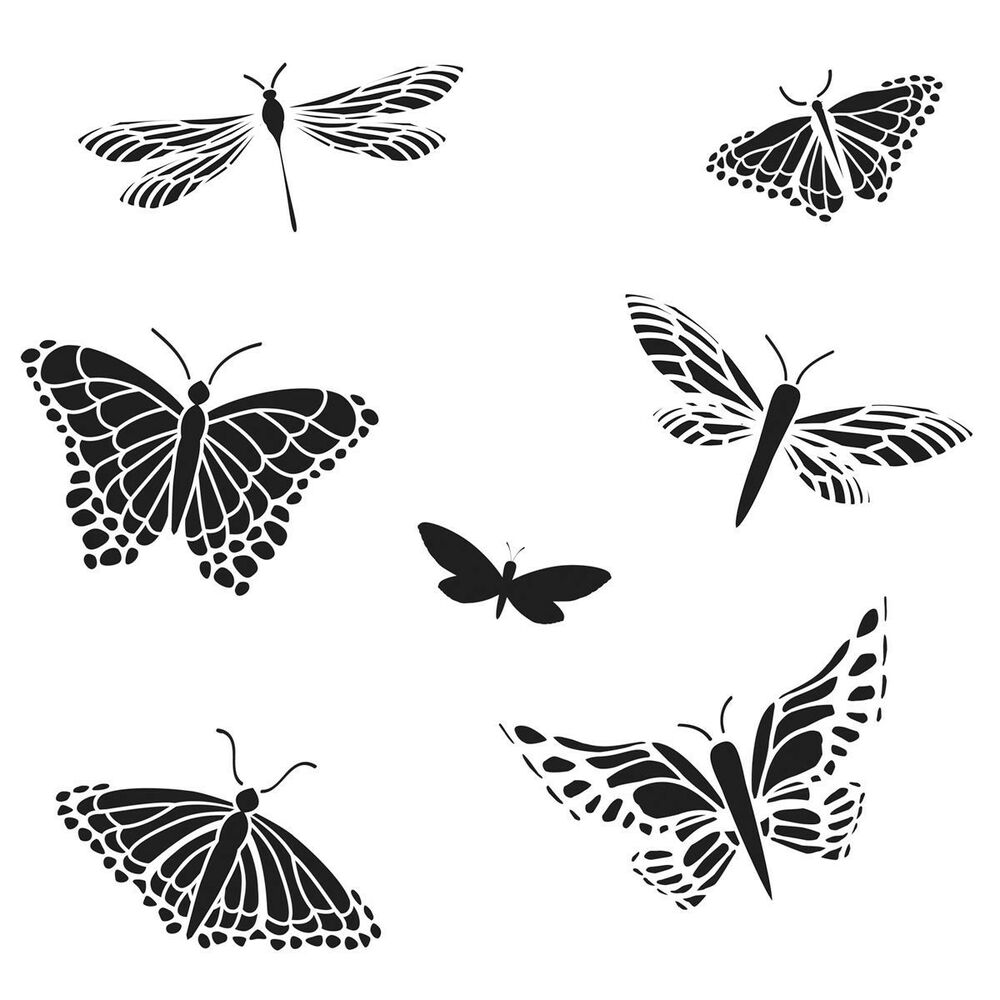 THE CRAFTERS WORKSHOP STENCIL TEMPLATE BACKGROUND