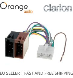 clarion 16 pin to iso lead wiring loom power adaptor wire radio connector 796551152069 ebay [ 1000 x 1000 Pixel ]