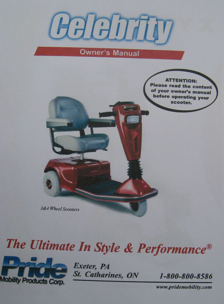 jet 7 power chair baby shower rentals pride mobility celebrity scooter user owner manual guide | ebay