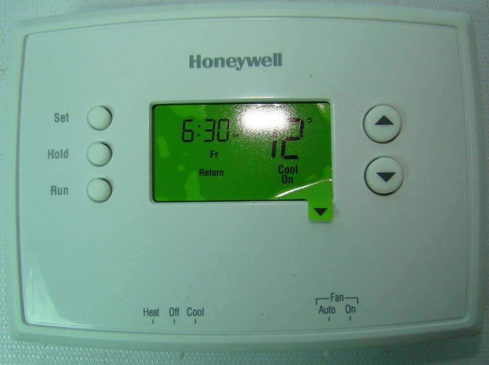 honeywell touchscreen rth8500d thermostat summary