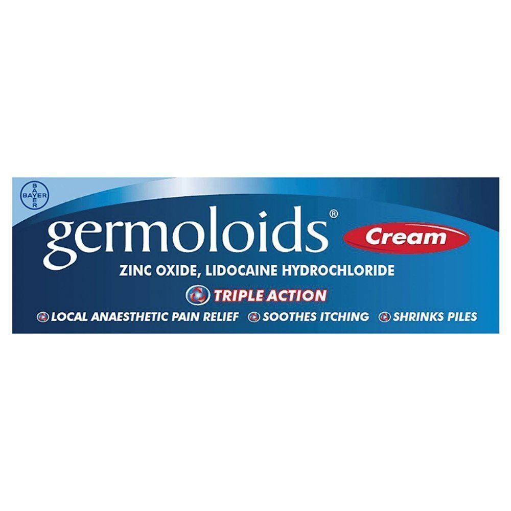 Germoloids Cream Triple Action Pain Relief Soothes Itching ...