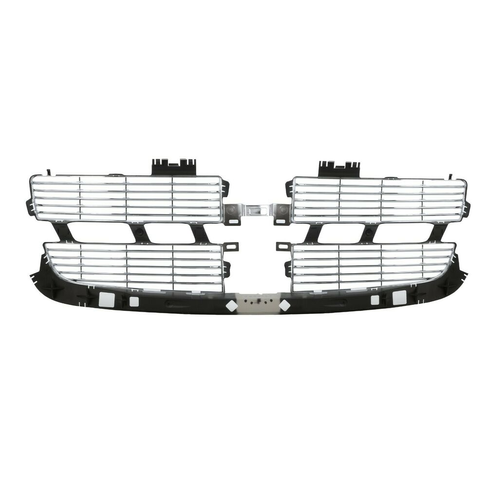 2009-2012 Dodge Ram 1500 Horizontal Chrome Grille Insert