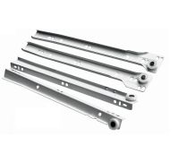 Roller Drawer Runners Metal White Kitchen All Sizes