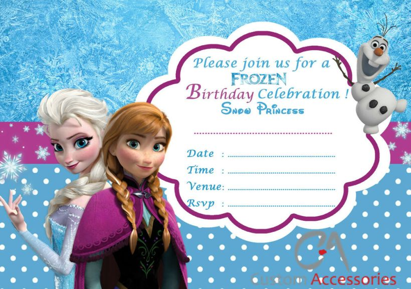 Free printable birthday invitation cards frozen cardss frozen invites demire agdiffusion com free frozen party invitation template ideas and inspiration birthday filmwisefo