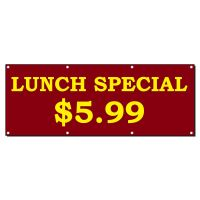 LUNCH SPECIAL RESTAURANT CAF Advertisement 2 ft x 4 ft ...