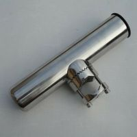 "Boat Stainless Steel Clamp On Fish Rod Holder Rails 1"" to ..."