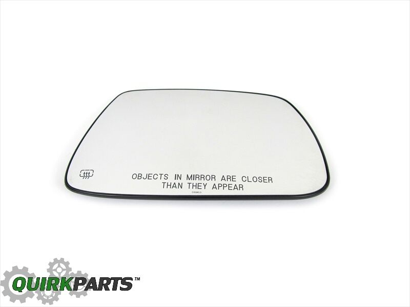 05-10 Jeep Grand Cherokee Right Side Mirror Glass Folding