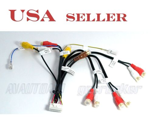 small resolution of pioneer 24pin rca audio video wire harness for avic f900bt pioneer radio wiring harness stereo wiring harness diagram
